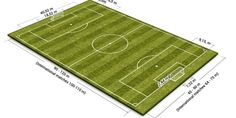 Soccer Field Pitch Dimensions and Size that you should know about: http://coachestrainingroom.com/soccer-field-dimensions-size/