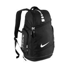 Nike Hoops Elite Max Air Team Backpack ($80) ❤ liked on Polyvore featuring bags, backpacks, nike backpack, rucksack bag, nike bag, knapsack bags and backpack bag
