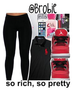 """""""✨ - Kylah"""" by trillest-queens ❤ liked on Polyvore featuring Ralph Lauren"""