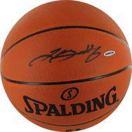 LeBron James Autographed NBA Basketball