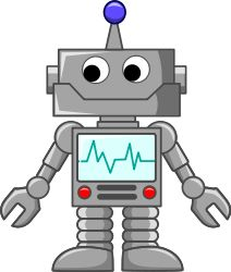 cartoon robot by Sirrob01 - Simple cartoon robot doodle