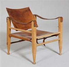 Lauritz.com - Möbler - Dansk møbelproducent. Safari stol - DK, Helsingør, Støberivej