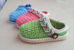CROCHET PATTERN Baby Shoes Crochet Booties Baby Clogs #baby #crochet #crochetpattern #affiliate