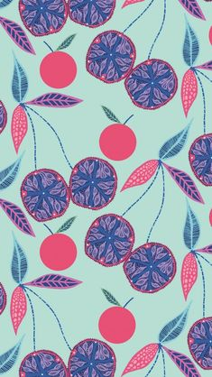 Free Iphone Wallpaper, Iphone Wallpapers, Color Patterns, Pattern Designs, Vegetable Illustration, Natural Forms, Repeating Patterns, Beautiful Patterns, Pattern Wallpaper