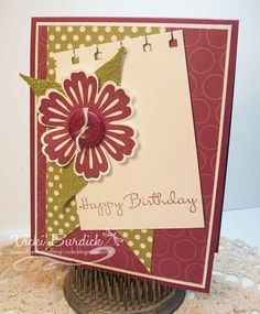 By vicki Burdick, It's a Stamp Thing: More Birthdays