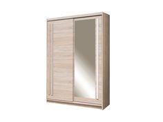 Dulap cu 2 uși glisante și oglindă pe ușa dreaptă, realizat din PAL melaminat de calitate superioară cu dimensiuni totale de150lungime,înălțime 215 cm și adâncime de 59 cm. Bathroom Medicine Cabinet, Dressing, Mirror, Furniture, Home Decor, Decoration Home, Room Decor, Mirrors, Home Furnishings