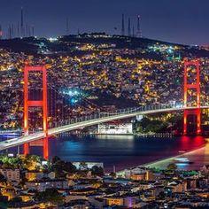İyi akşamlar good evening Light on istanbul 2018 #metinbdemirel