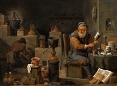 David Teniers the Younger - The Alchemist [c.1640-50] | by Gandalf's Gallery