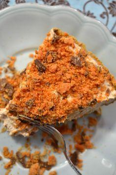 Skinny Butterfinger Pie