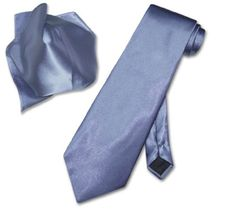 Introducing Antonio Ricci Solid FRENCH BLUE Color NeckTie  Handkerchief Mens Neck Tie Set. Great Product and follow us to get more updates!