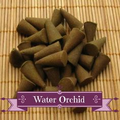 Water Orchid Incense Cones