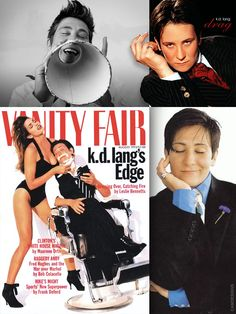 "k.d. lang (born Kathryn Dawn Lang, Nov. 2, 1961) is a Canadian pop and country singer-songwriter and occasional actress. She possesses the vocal range of a mezzo-soprano. Lang has won both Juno Awards & Grammy Awards. Her hits include ""Constant Craving"" and ""Miss Chatelaine"". She has contributed songs to movie soundtracks and has teamed with musicians such as Roy Orbison, Tony Bennett, and Elton John. Lang is known as an activist for HIV/AIDS, animal rights, gay rights, and Tibetan human rig..."