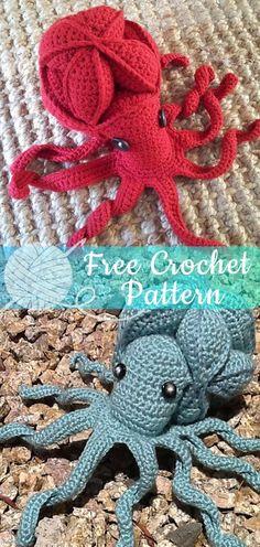 9 Beste Afbeeldingen Van Gehaakte Octopus Yarns Crochet Dolls En