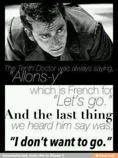 Doctor Who. The tenth doctor