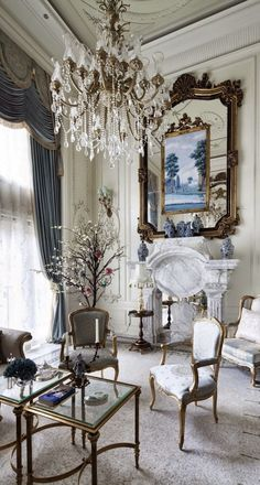 23 stunning living room designs to inspire your next - French interior design companies ...