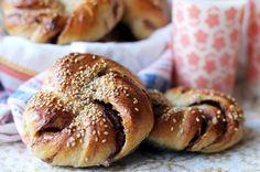 Fika, Christmas Baking, Bread Baking, Let Them Eat Cake, Bagel, Food Inspiration, Sweet Treats, Healthy Recipes, Healthy Foods
