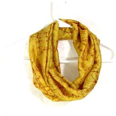 Yellow Silk Scarf Sari Silk Infinity Scarf Womens Scarf Fall Scarf... ($18) ❤ liked on Polyvore featuring accessories, scarves, loop scarf, infinity scarves, circle scarf, silk infinity scarves and lightweight summer scarves