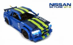 Nissan's Skyline is not made for drifting. With computer controlled all-wheel-drive the GTR is in fact designed to have as much grip as possible. But with enough modifications and some clever engin...