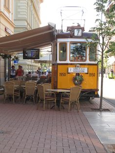 Szeged - we had coffee here with Agnes!