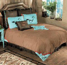 25 Western Bedroom Design Ideas For Girls Dream Rooms, Dream Bedroom, Girls Bedroom, Horse Themed Bedrooms, Bedroom Themes, Horse Bedrooms, Bedroom Ideas, Turquoise Bedroom Decor, Turquoise Room