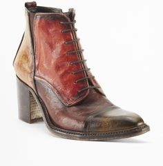 Chart Topper Lace-Up Bootie - Kenneth Cole New York