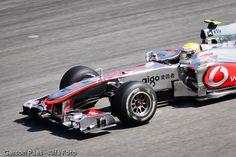 Fórmula 1, 2010  Fotografando pro Santander.