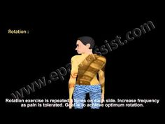 Exercises to Prevent Neck Pain, Neck Flexion and Extension, Side Flexion