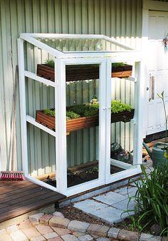 Container Gardening, Gardening Tips, Diy Greenhouse Plans, Flower Garden Design, Cold Frame, Front Yard Landscaping, Pergola, Outdoor Structures, Landscape