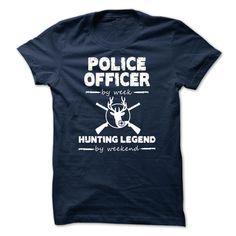 (Tshirt Deal Today) Police Officer Cool Shirt [Teeshirt 2016] Hoodies Tee Shirts