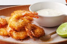 Make these coconut prawns with lime aioli a part of your romantic dinner on Valentine's Day.