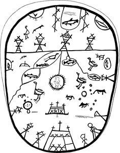 In Sámi mythology, the first akka was Maderakka and h… Lappland, Dresden, Ancient Tattoo, Drum Tattoo, Thinking Day, Ancient Symbols, Indigenous Art, Museum, Tattoo Studio