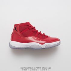 ac12690eaa6bc2 Air Jordan 11 Gym Red 11 Oriental Ted Perfect Flying Embroidery