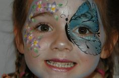 Face Paint Designs for Girls | Budding Stars Professional Face Painters | Surrey M25 (Tadworth, Kingswood, Redhill, Reigate, Guildford)