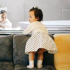 Cute Baby Skirt Dot Pattern 100%Cotton Infant Toddler Kids Child Handmade Eb155 #Ggoomduboo #EverydayHoliday