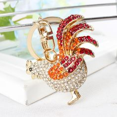 Red Black Wing Tail Chicken Cock Rooster Keyring Rhinestone Crystal Charm Pendant Purse Bag Car Key Chain Women Gift     Tag a friend who would love this!     FREE Shipping Worldwide     Get it here ---> http://jewelry-steals.com/products/red-black-wing-tail-chicken-cock-rooster-keyring-rhinestone-crystal-charm-pendant-purse-bag-car-key-chain-women-gift/    #new_earrings