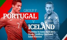 Will tournament minnows Iceland cause an upset against Cristiano Ronaldo and co? Get the latest from Gregg Bakowski Uefa Euro 2016, European Football, Cristiano Ronaldo, Iceland, Portugal, Shit Happens, Live, Sports, Ice Land