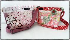 kleine Taschen für kleine Ladies Retro, Lady, Bunt, Diaper Bag, Vintage, Fashion, Small Bags, Moda, Fashion Styles