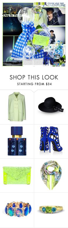 """""""''They who dream by day are cognizant of many things which escape those who dream only by night. Edgar Allan Poe''"""" by purplecherryblossom ❤ liked on Polyvore featuring Oris, Moschino Cheap & Chic, Borsalino, Isabey, Giuseppe Zanotti, Valentino, Gemvara and Kara Ross"""