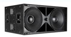 Sub-bajo amplificado SUB de RCF, subwoofer Small Speakers, Monitor Speakers, Audio Speakers, Subwoofer Box Design, Speaker Box Design, Speaker Plans, Speaker System, Rcf Audio, Professional Audio