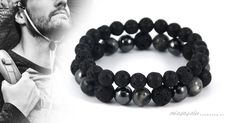 Kalandor vagyok ásvány karkötő szett, a következő ásványokat tartalmazza: #lávakő #hematit #labradorit #ásványkarkötők #ásványokhatásai #férfikarkötők #ásványékszerek Bracelets, Jewelry, Fashion, Moda, Jewlery, Jewerly, Fashion Styles, Schmuck, Jewels