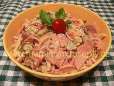 + 3 slovácký salát Potato Salad, Salads, Food And Drink, Potatoes, Petra, Chicken, Meat, Ethnic Recipes, Kochen