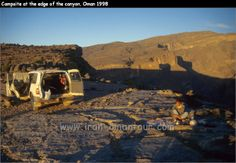 This looks like a spot where we camped in the Jebal Shams... Mooi! But scarey wild goats!