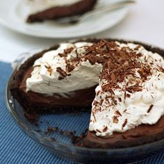 Raw Chocolate Tarts with Coconut Whip - vegan