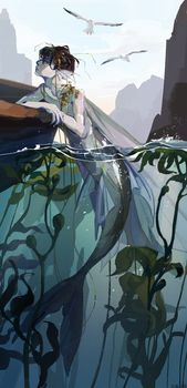 Mermay 2021 Art Feature! by Acaciathorn on DeviantArt Mermaid Artwork, Aquarium, Deviantart, Goldfish Bowl, Aquarium Fish Tank, Aquarius, Fish Tank