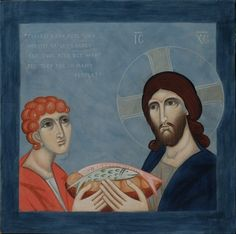 'The Feeding of the 5000' by Philip Davydov, specially commissioned for St John's Episcopal Church, Lafayette, Indiana for their St John's/LUM Food Pantry