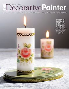 The Decorative Painter magazine when you join The Society of Decorative Painters (SDP).