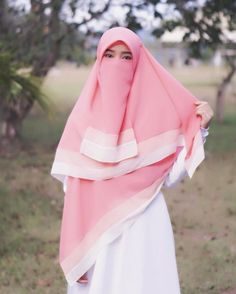 Image may contain: one or more people, people standing, child, outdoor and closeup Niqab Fashion, Muslim Fashion, Fashion Outfits, Womens Fashion, Hijab Style Dress, Hijab Outfit, Hijabi Girl, Girl Hijab, Muslim Girls