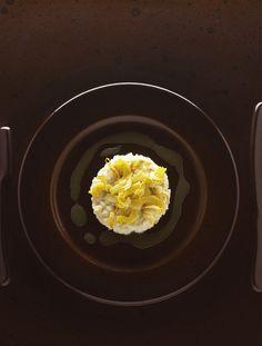 Risotto aux artichauts par Alain Ducasse Alain Ducasse, Risotto, Eggs, Cooking, Breakfast, Food, Rice, Dish, Recipes