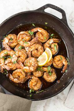 Simple and delicious garlic butter sautéed shrimp recipe! A great shrimp dinner ready in just 10 minutes. This keto diet recipe is amazing. Sauteed Shrimp Recipe, Pan Fried Shrimp, Keto Shrimp Recipes, Garlic Butter Shrimp, Shrimp Recipes For Dinner, Breaded Shrimp, Cajun Shrimp, Fish Recipes, Shrimp Dishes