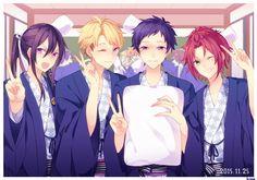 Akatsuki, Hot Anime Guys, Anime Boys, Comedy Anime, Star Wars, Shining Star, Ensemble Stars, Knight, Kawaii